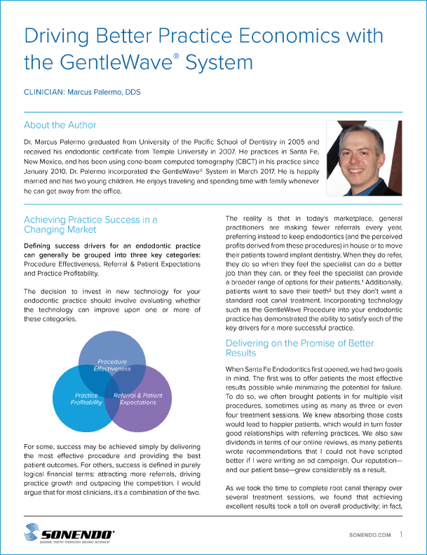 Driving Better Practice Economics with the GentleWave® System